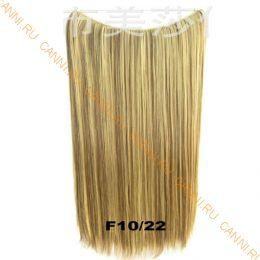 Искусственные термостойкие волосы на леске прямые №F010/022 (60 см) - 100 гр.