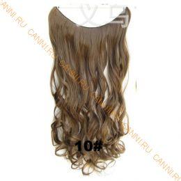 Искусственные термостойкие волосы на леске волнистые №010 (60 см) - 100 гр.