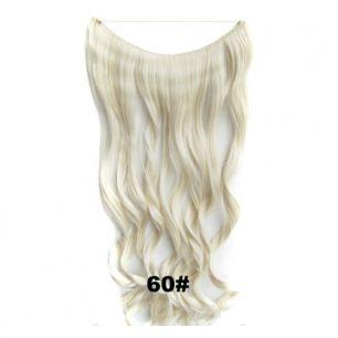 Искусственные термостойкие волосы на леске волнистые №060 (60 см) - 100 гр.
