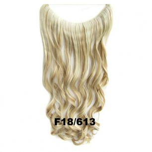Искусственные термостойкие волосы на леске волнистые №F018/613 (60 см) - 100 гр.