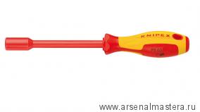 Ключ гаечный торцовый с отверточной ручкой 1000 V KNIPEX 98 03 06