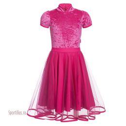 Платье для бальных танцев, юбка фатин