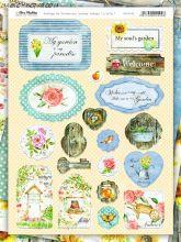 """Чипборд """" My Gardening"""" от Bee Shabby"""