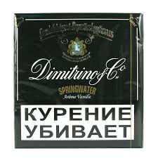 Сигареты Dimitrino Springwater Vanilla