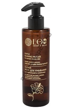 ECOLAB - Нежный мусс Деликатное очищение для нормальной и сухой кожи