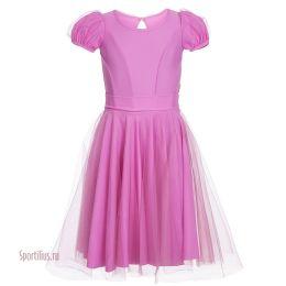 Платье для танцев, сиреневое