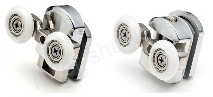 Ролик VH027-2. комплект 8шт Диаметр колеса (от 18,6 до 28мм) для кабин River (Ривер)