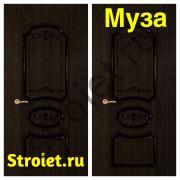 "Двери ""Муза"" шпон мореный дуб"