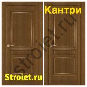 """Двери """"Кантри"""" шпон ольха"""