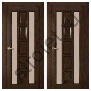 """Двери """"Вега"""" шпон каштан"""