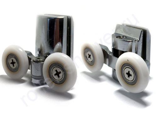 Ролик для душевой кабины VH067. Диаметр колеса  (от18.6мм до 28мм) (комплект 8шт)