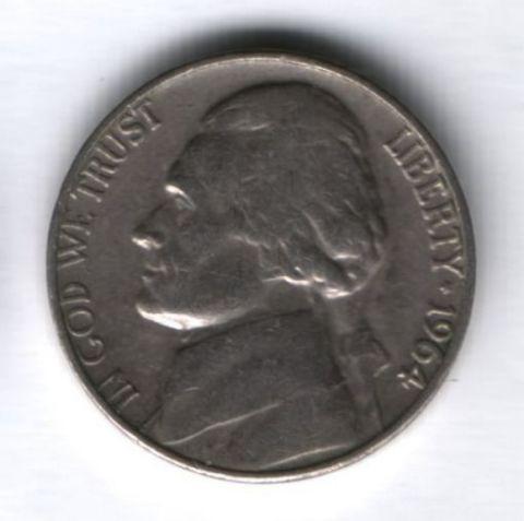 5 центов 1964 г. США