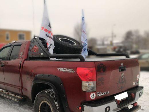Кронштейн крепления флага в дугу Стандарт Toyota Tundra 07-13