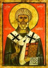 Икона Климент, Папа Римский (копия старинной)