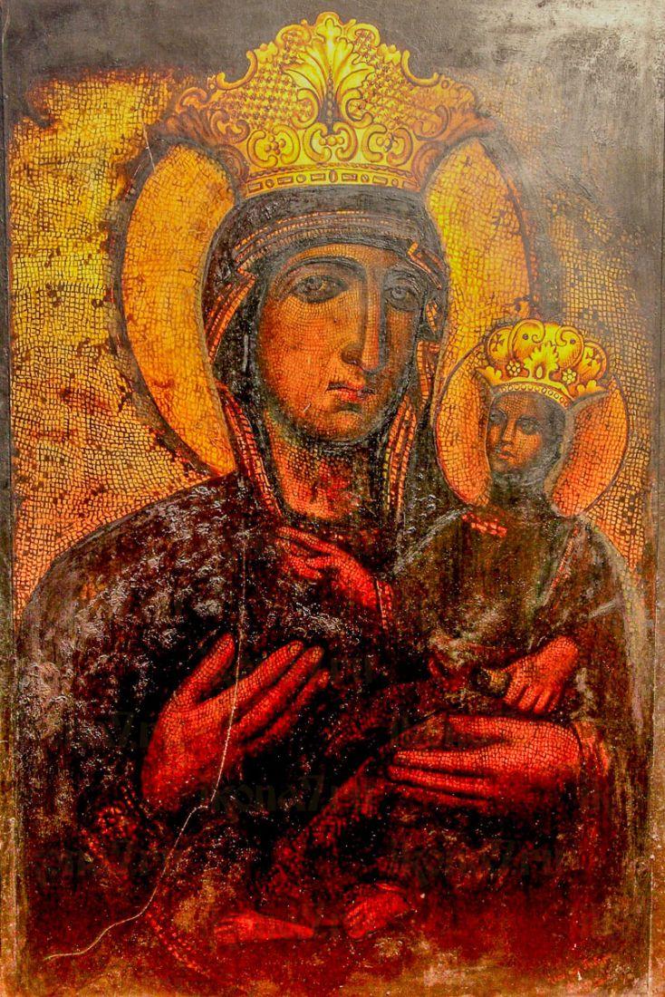 Всеблаженная икона Божией Матери (копия старинной)