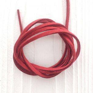 Замшевый шнур Красный