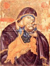 Кардиотисса Сердечная икона Божией Матери (копия старинной)