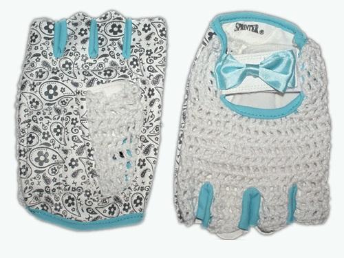 Перчатки для атлетики женские Sprinter (иск.кожа, сетка)