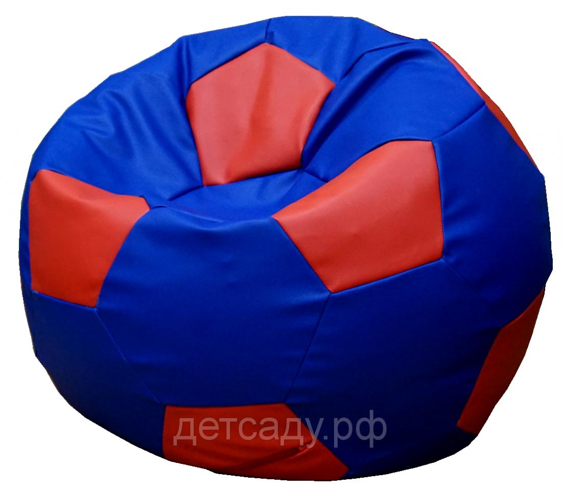 """Кресло-мешок бескаркасное """"Футбольный мяч"""" 70см"""
