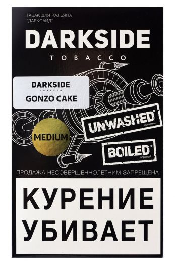 Табак для кальяна Dark Side Medium Gonzo Cake