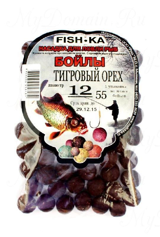 Бойлы FISH.KA (тигровый орех) диаметр 16 мм