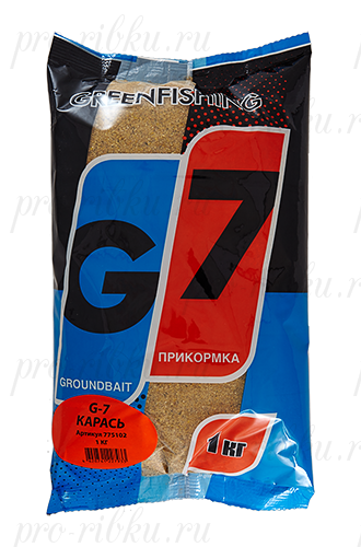 "Прикормка GREENFISHING ""G-7 Карась"", вес 1 кг"