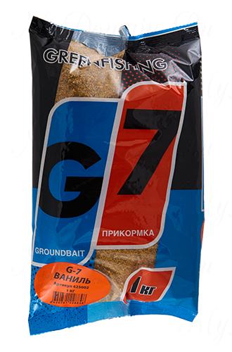 """Прикормка GREENFISHING """"G-7 Универсальная Ваниль"""", вес 1 кг"""