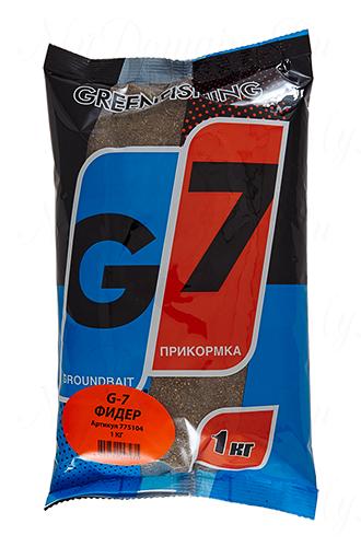 "Прикормка GREENFISHING ""G-7 Фидер"", вес 1 кг"