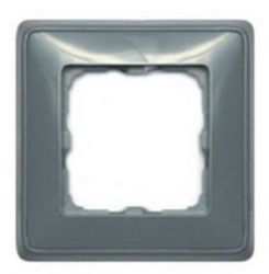 Рамка Legrand Cariva 1 пост жемчужно-серая (арт.773691)