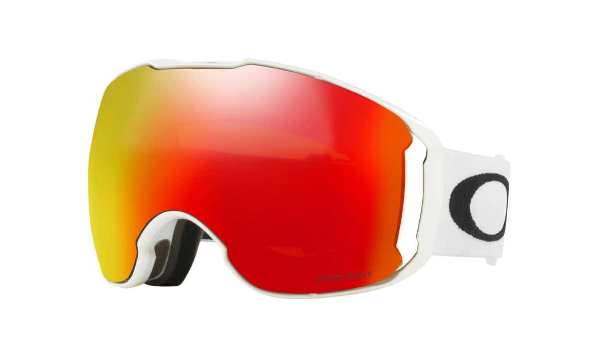 Oakley AIRBRAKE XL Polished White/Prizm Snow Torch Iridium