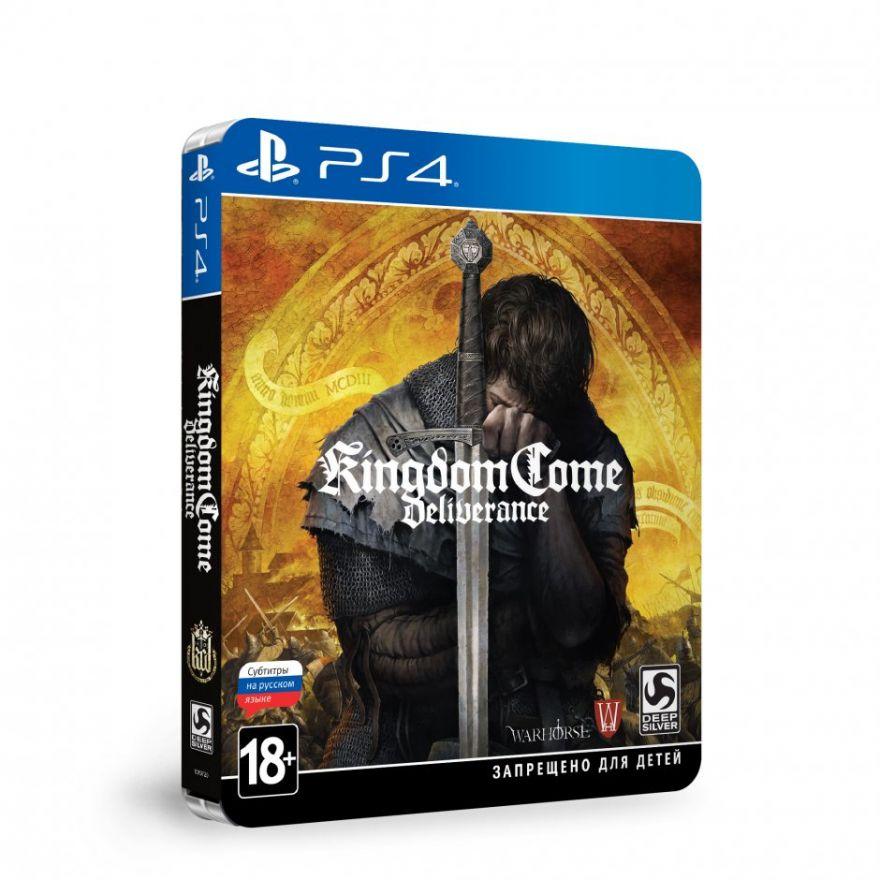 Игра Kingdom Come Deliverance Steelbook Edition (PS4)