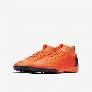 Детские сороконожки NIKE MERCURIALX SUPERFLY VI ACADEMY GS TF AH7344-810 JR