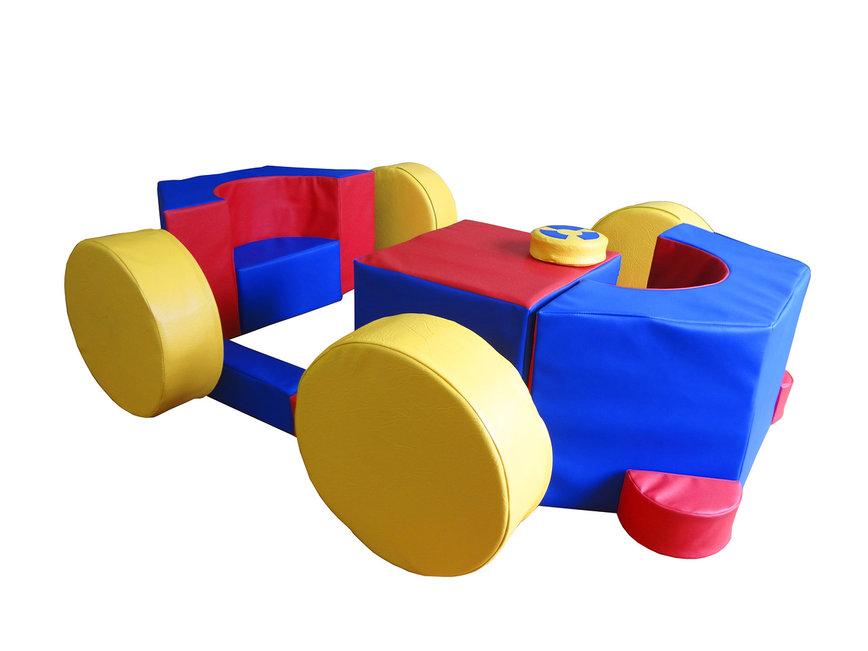 """Игровой мягко-модульный набор """"Автомобиль"""", 16эл."""