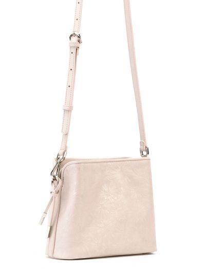 Розовая итальянская сумка через плечо