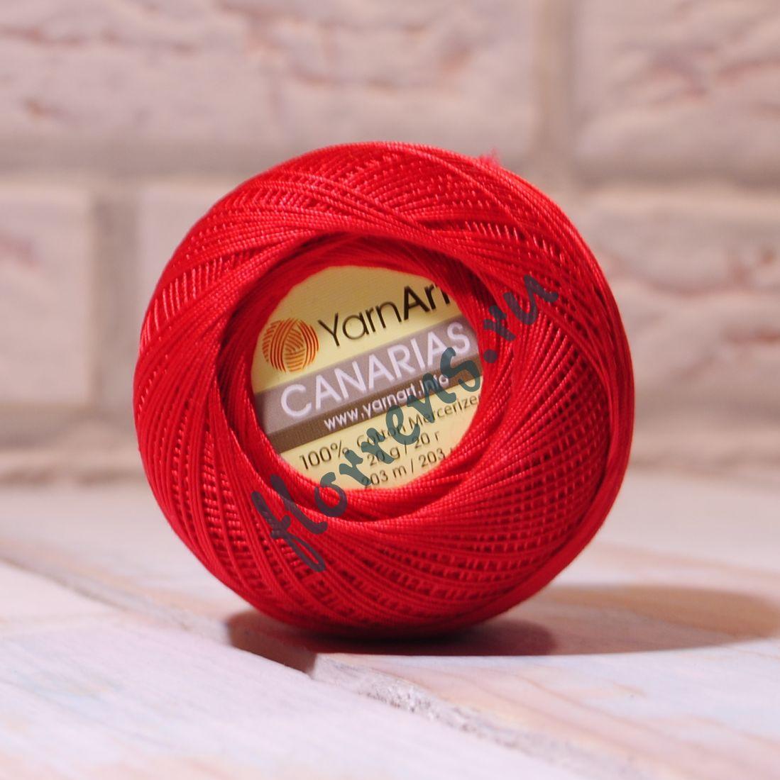 Пряжа YarnArt Canarias / 6328 красный