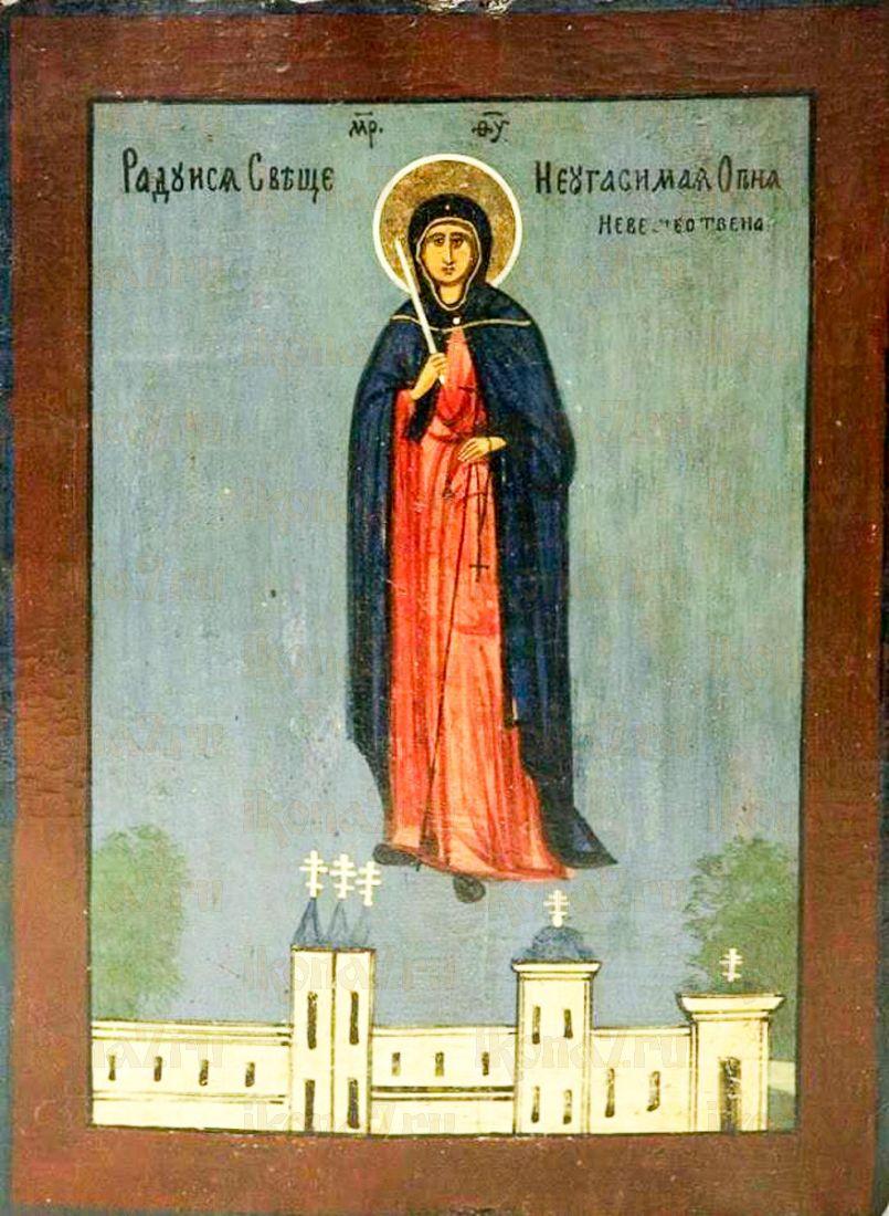 Икона Неугасимая Свеча (копия старинной)