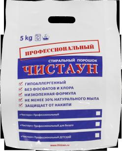«Чистаун» Стиральный порошок «Профессиональный для белого», 5кг