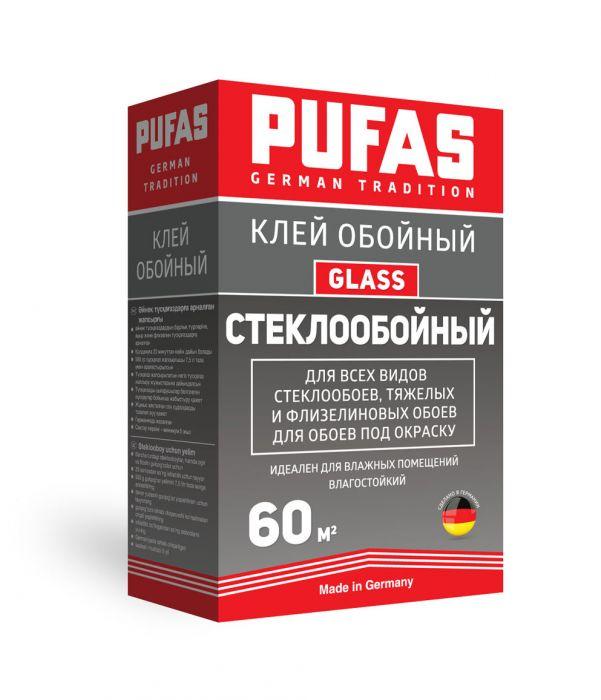Обойный клей Pufas Glass стеклообойный 60 м2