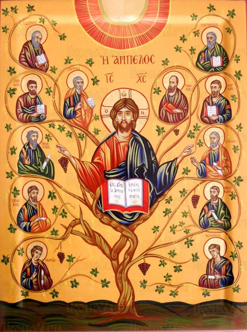 Икона Древо Жизни (Виноградная Лоза)