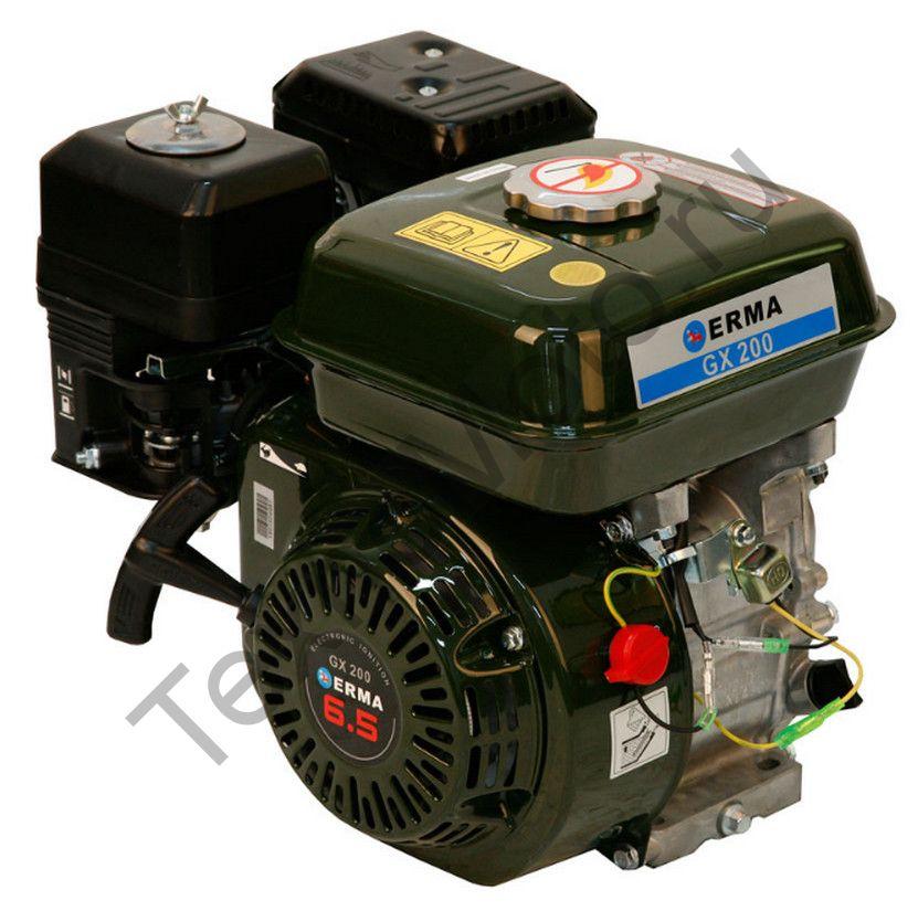 Двигатель Erma Power GX200 D20(6,5 л. с.) аналог Honda GX200 для болотохода