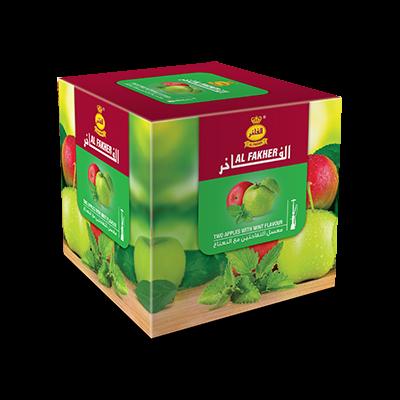 Табак для кальяна Al Fakher Два яблока с мятой