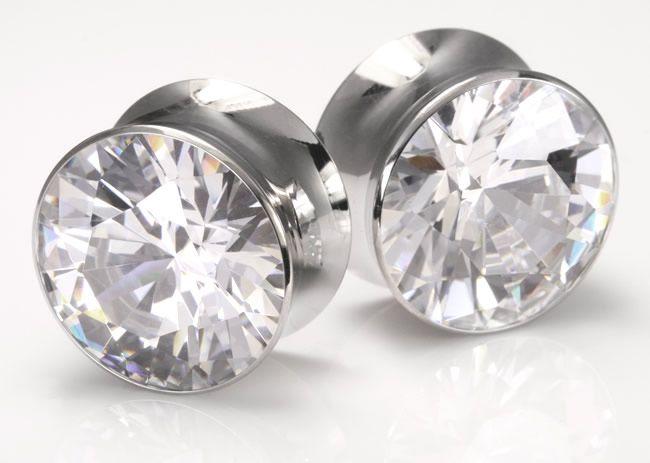 Плаги из стали с кристаллом