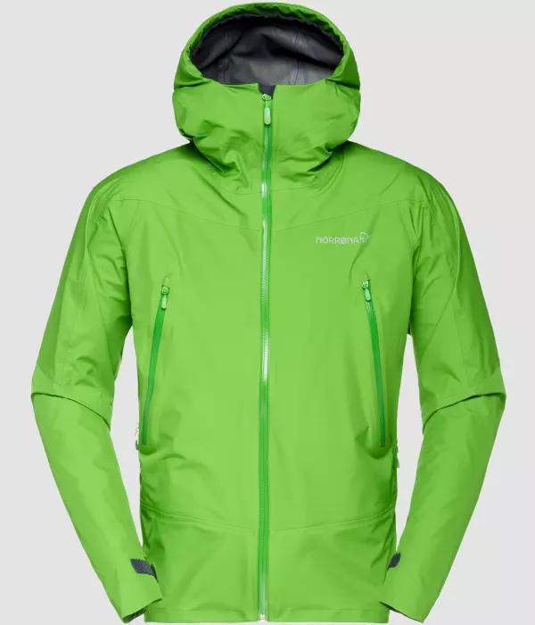 NORRONA Falketind Gore-Tex Jacket (M) CLEAN GREEN