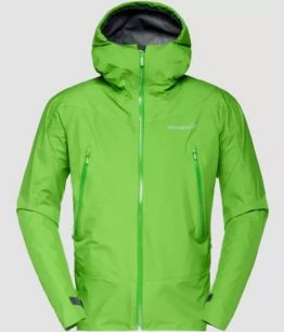 NORRONA Falketind Gore-Tex Jacket (M) CLEAN GREEN