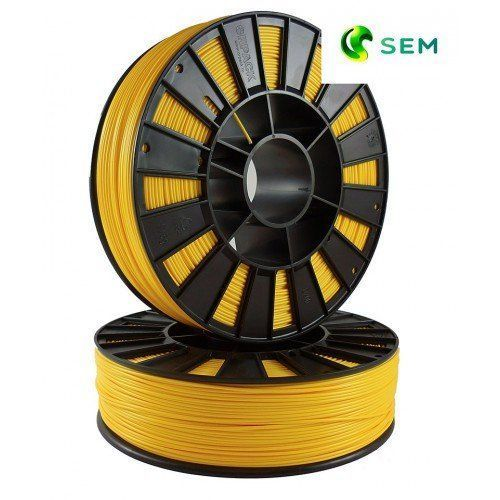 Sem abs пластик для 3d принтера ø1.75 желтый 0,75кг