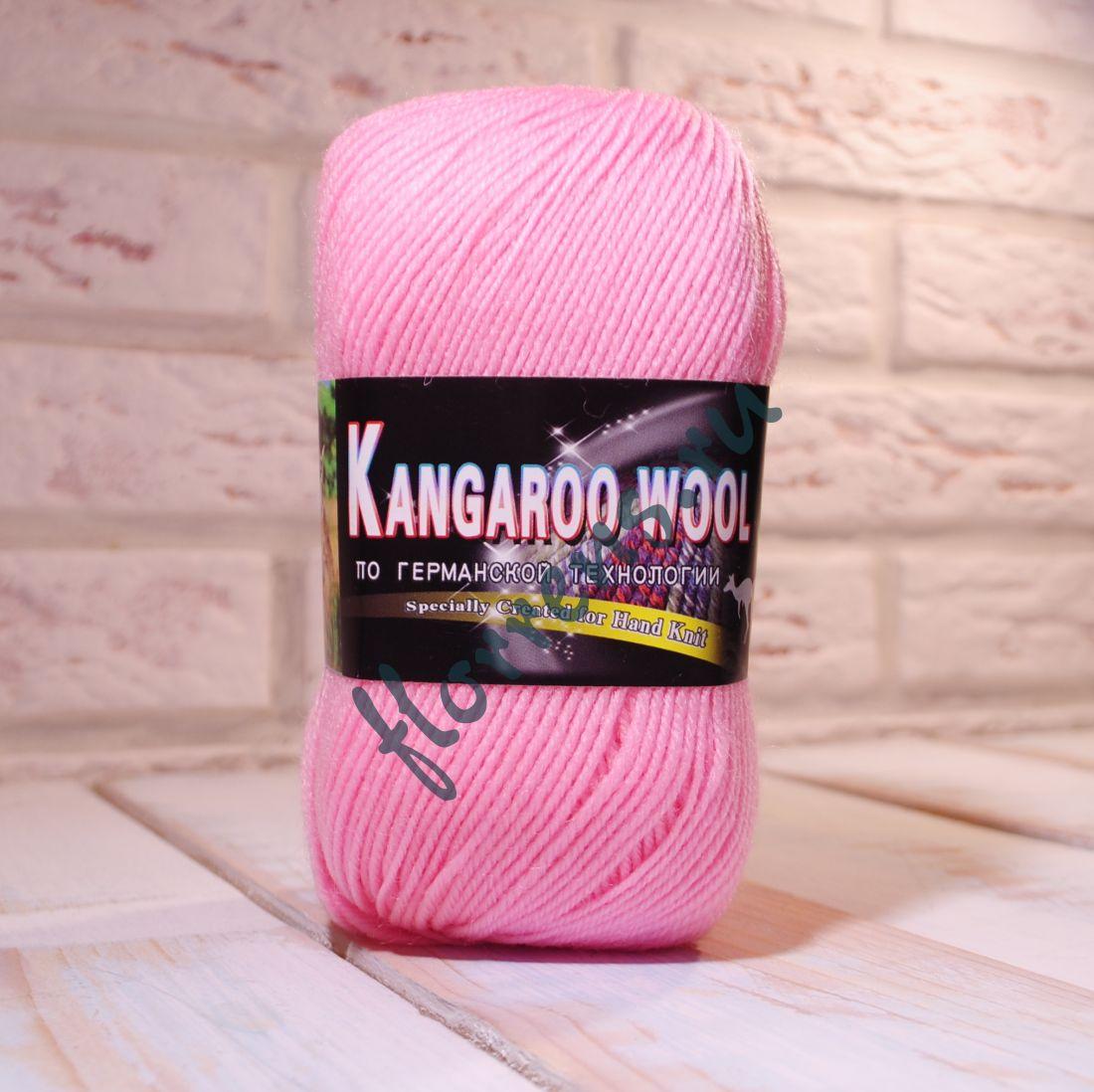 """Пряжа """"Color City"""" Kangaroo wool / 2107 нежно розовый"""