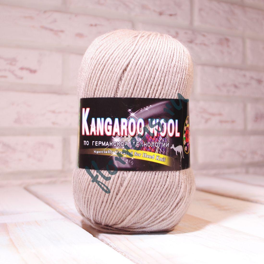 "Пряжа ""Color City"" Kangaroo wool / 2500 бежевый"
