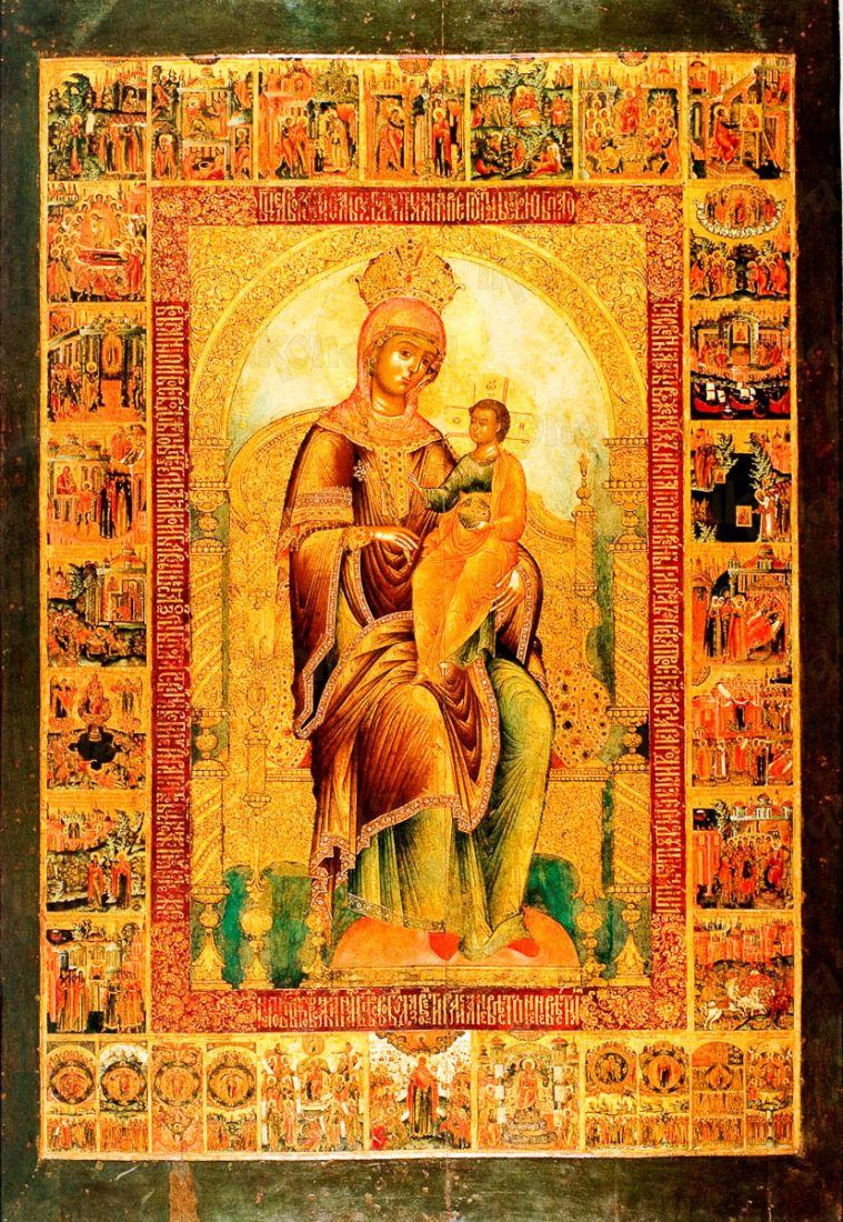 Кипрская икона БМ (копия старинной)