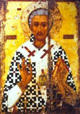 Икона Лазарь Четверодневный (копия 16 века)