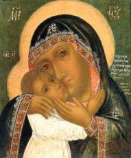 Девпетерувская икона Божией Матери (копия старинной)